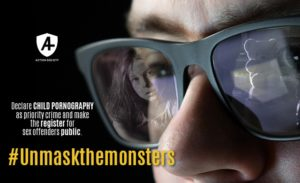 Action Society launches #Unmaskthemonsters campaign